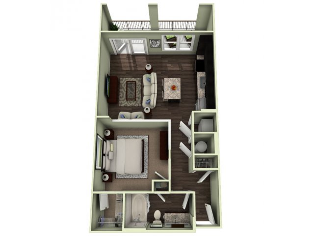 Floor Plan 2 | LaVie SouthPark