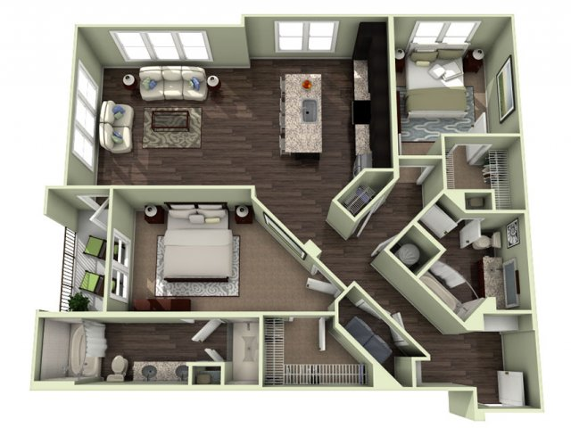 Floor Plan 18 | LaVie SouthPark