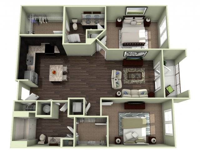 Floor Plan 15 | LaVie SouthPark