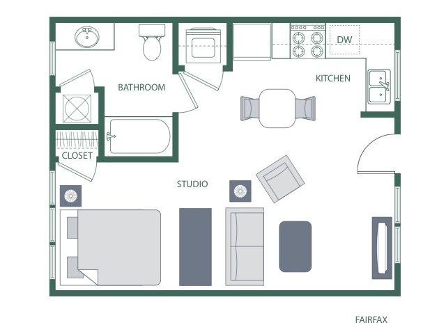 Floor Plan 12 | 2100 Acklen Flats