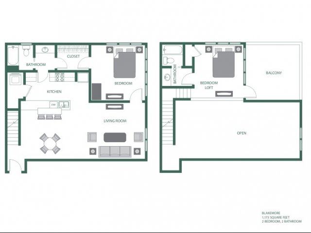 Floor Plan 11 | 2100 Acklen Flats