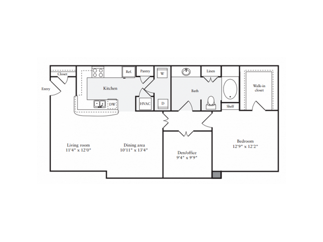 Floor Plan | Anderson at Clairmont