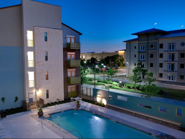 Northside at Legacy Apartments Plano Texas Pool View
