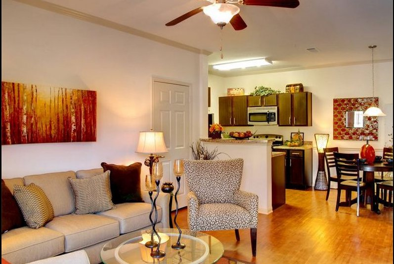 Spacious Living Room | Apartments in Mobile, AL | Longleaf Pines Apartments
