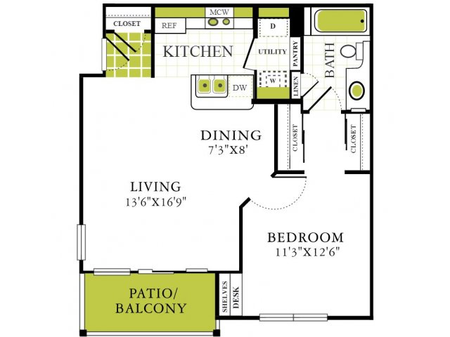 Grapevine Twenty Four 99 - Apartments Grapevine Texas For Rent One Bedroom