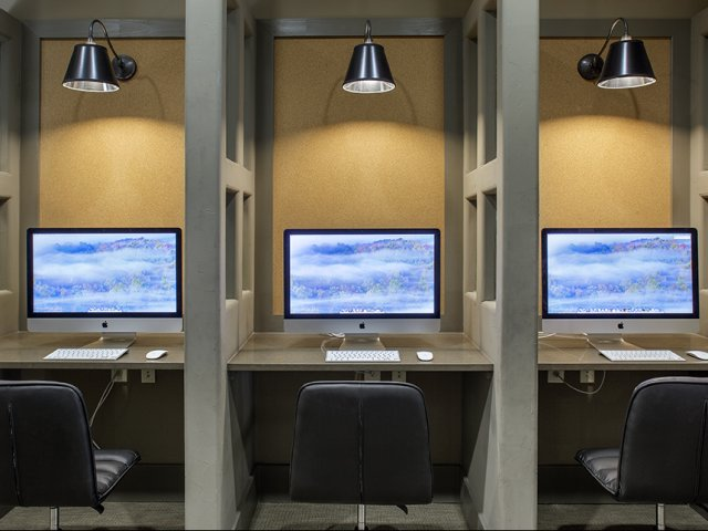 Business Center with Computers and Internet Access