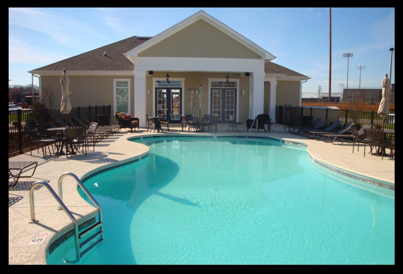 Swimming Pool and Sundeck l Ridgemont Park