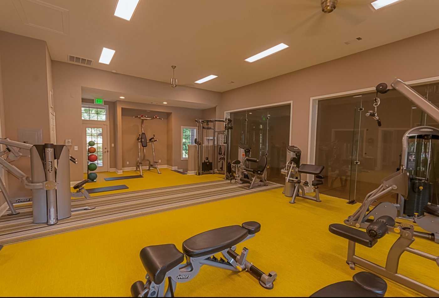 State-of-the-Art Fitness Center | Nashville Rentals | Cherry Creek