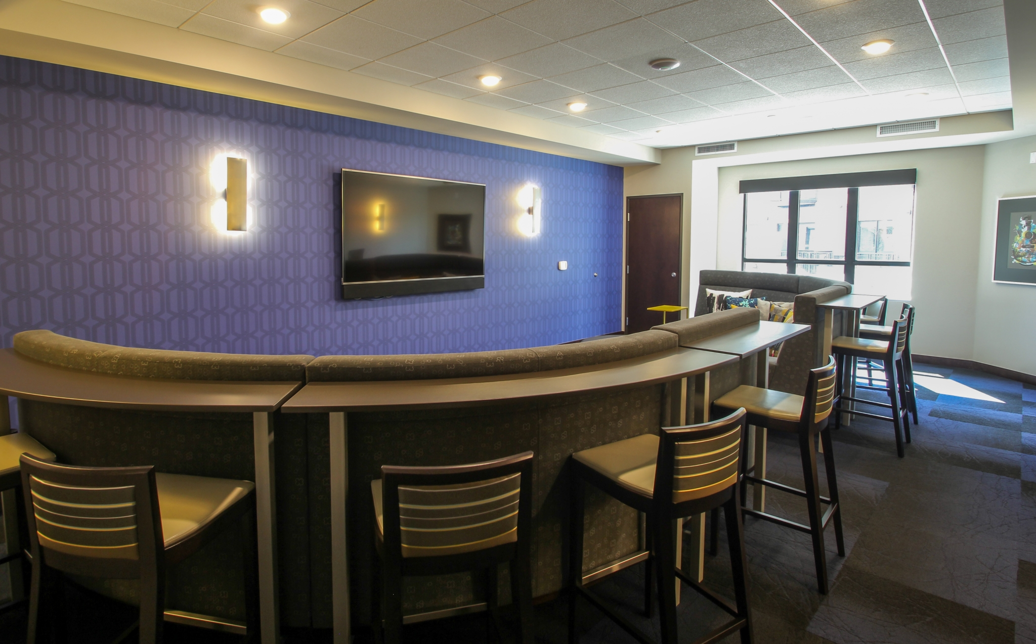 Image of Kaleidoscape Equipped Media Room for The Paxon