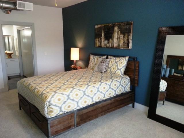 Elegant Master Bedroom | Apartments Dallas, TX | 5225 Maple Avenue Apartments
