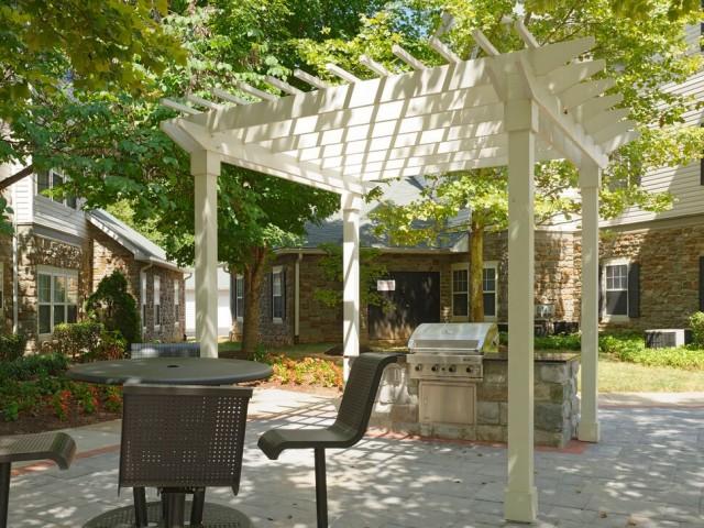 Community BBQ Grills | Fairfax VA Apartment For Rent | Lincoln at Fair Oaks Apartments