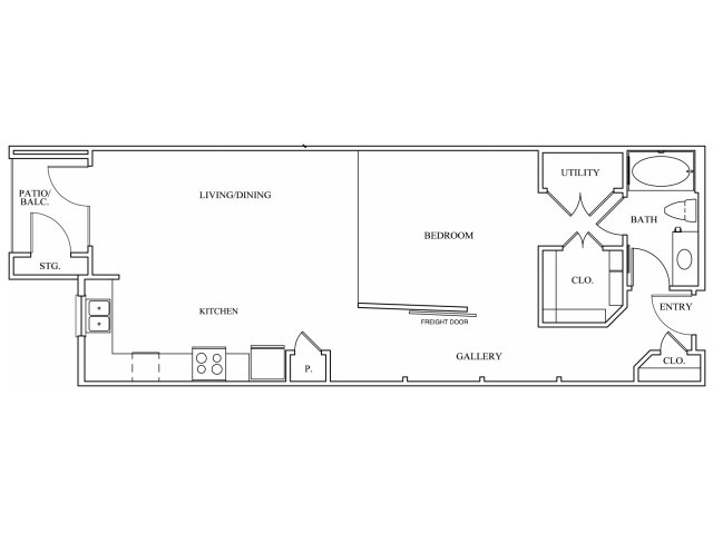 Keller Springs Crossing|Loft Apartment Floor Plan|Apartments for Rent Carrollton, TX