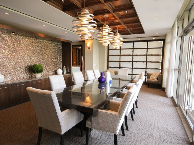 Image of Private dining room for 7 Riverway