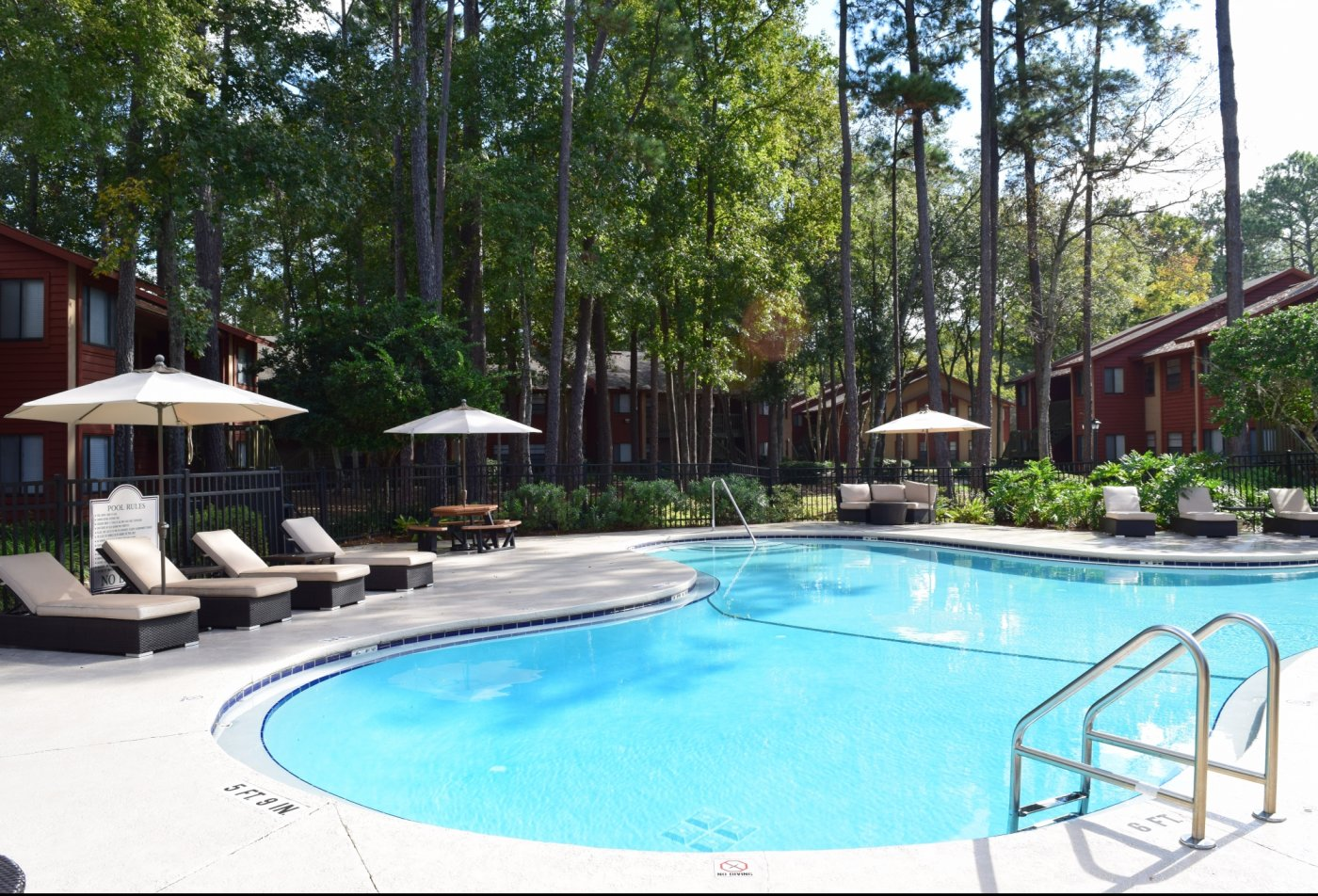 Sparkling Pool | Apartments for rent in Jacksonville, FL | Deerfield Apartments