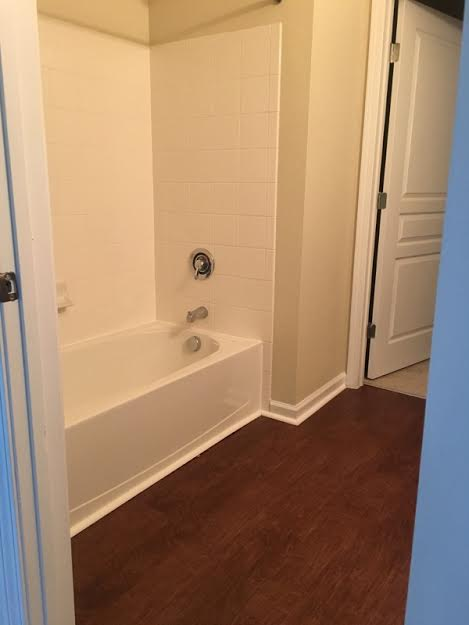 Spacious Bathroom | Knightdale NC Apartment For Rent | Greystone at Widewaters