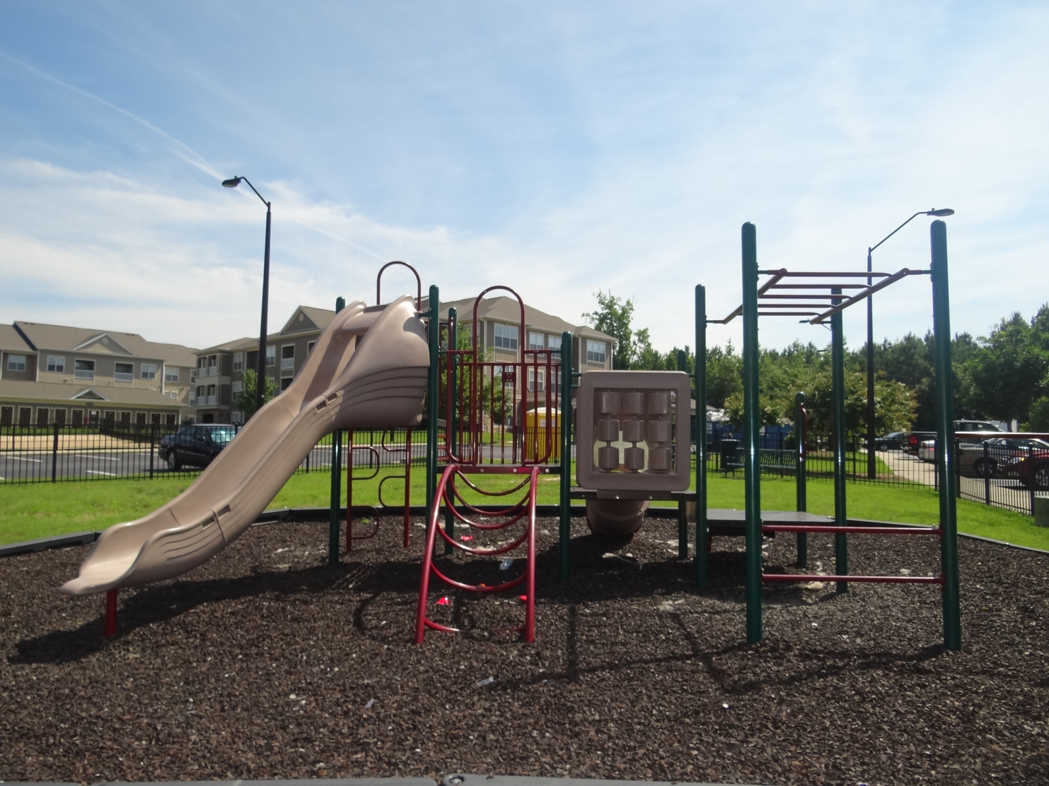 Community Children\'s Playground | Apartment Homes in Knightdale, NC | Greystone at Widewaters