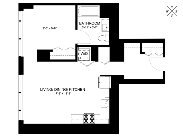 Convertible Floor Plan CB