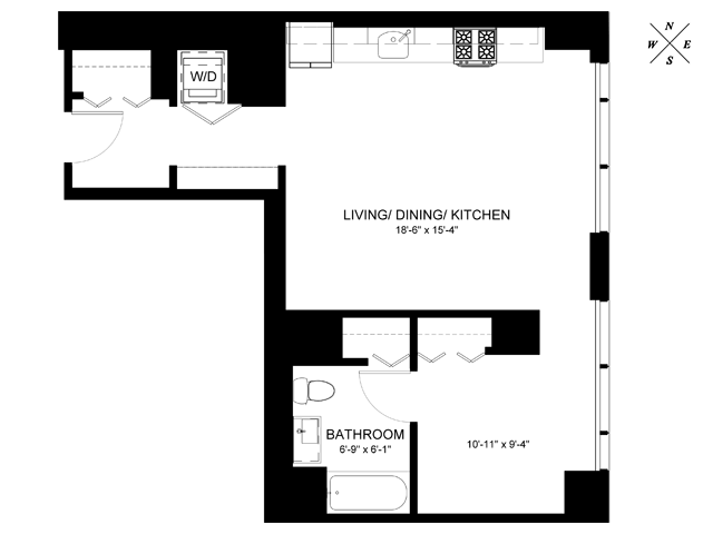 Convertible Floor Plan CF