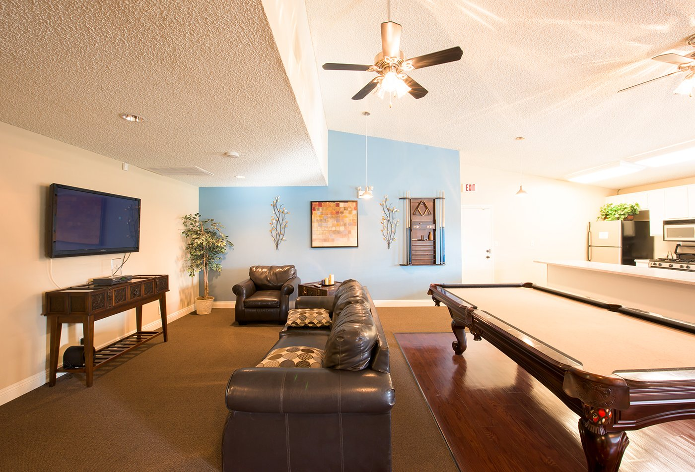 Resident Game Room | Apartments in Riverside, CA | Laurel Heights
