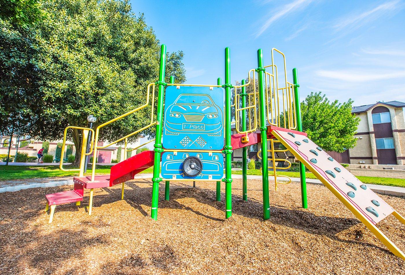 Community Children's Playground | Apartment Homes in Riverside, CA | Laurel Heights