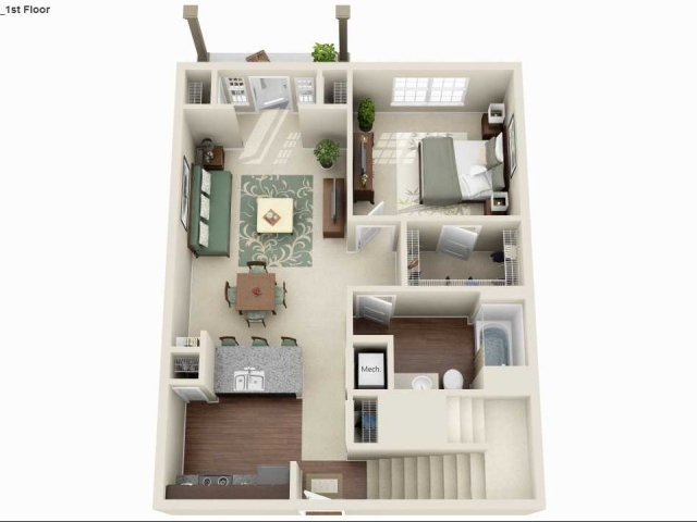 MULTI LEVEL - 3 BEDROOM 2 BATH