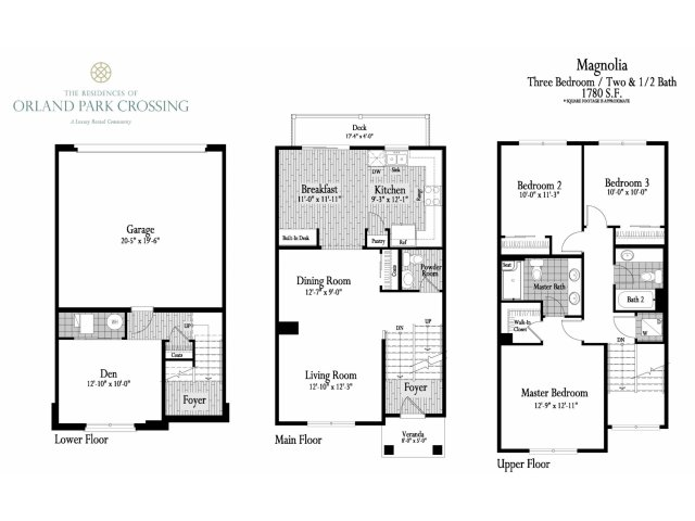 The Residences of Orland Park Crossing