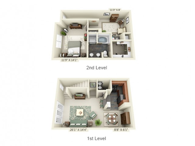 Floor Plan | The Lodge at Lakecrest