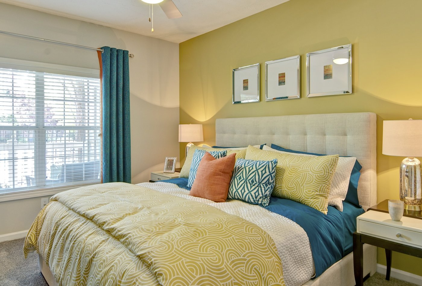Spacious Master Bedroom | Apartments Homes for rent in Atlanta, GA | Aspire Perimeter Apartments