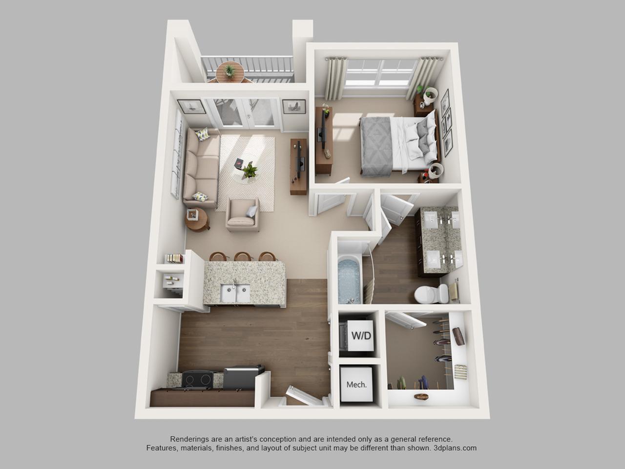 Floorplan 5 | The Haven at Atwater Village
