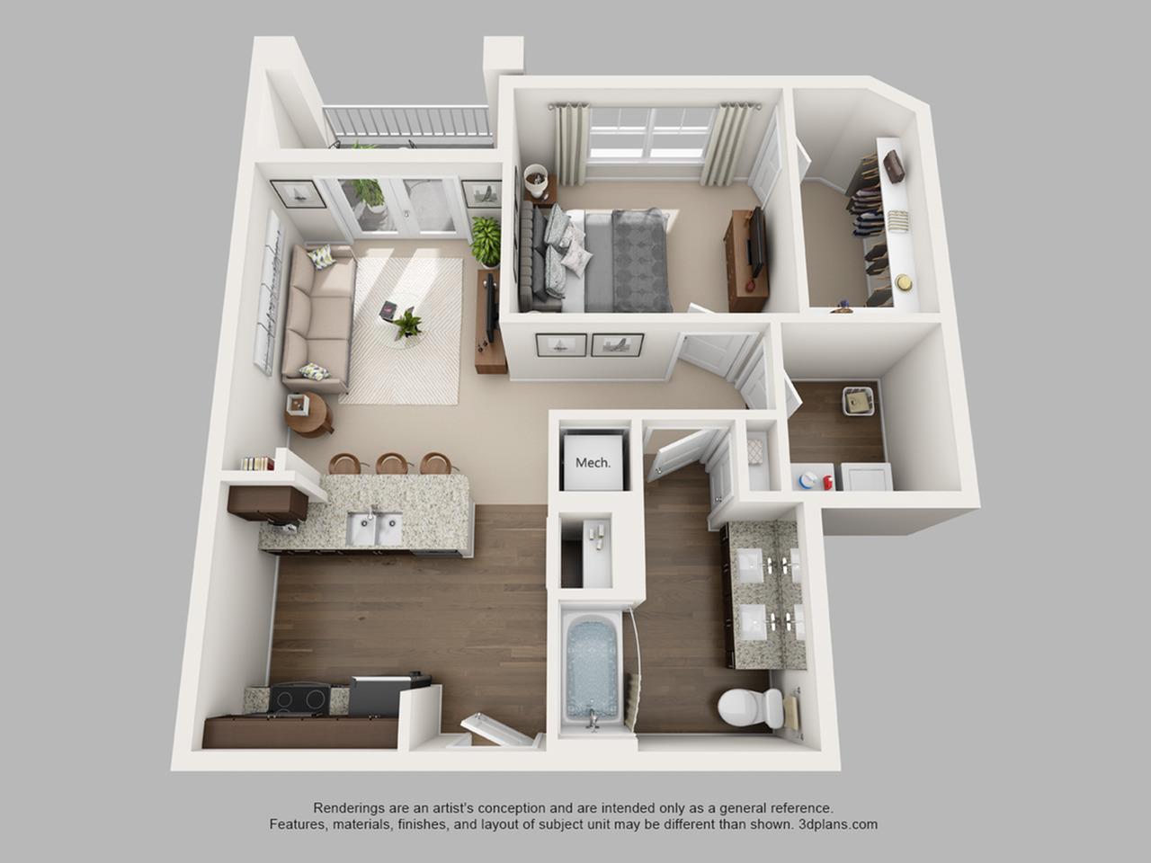 Floorplan 6 | The Haven at Atwater Village