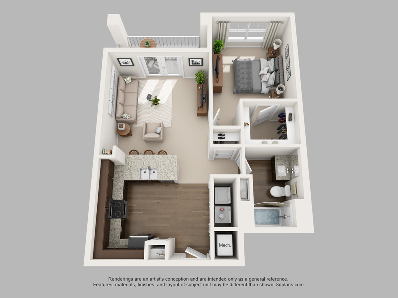 Floorplan 3 | The Haven at Atwater Village