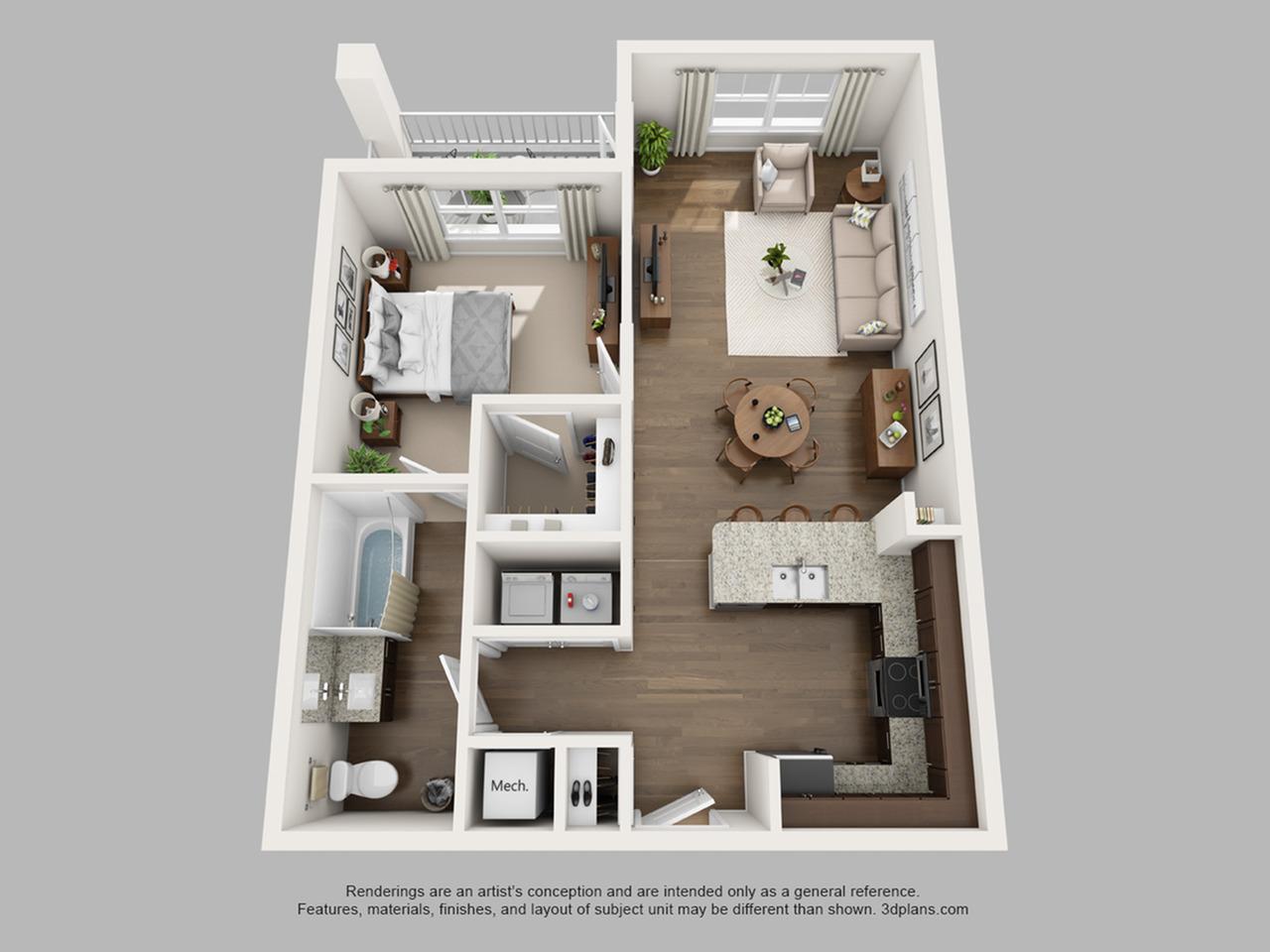Floorplan 7 | The Haven at Atwater Village