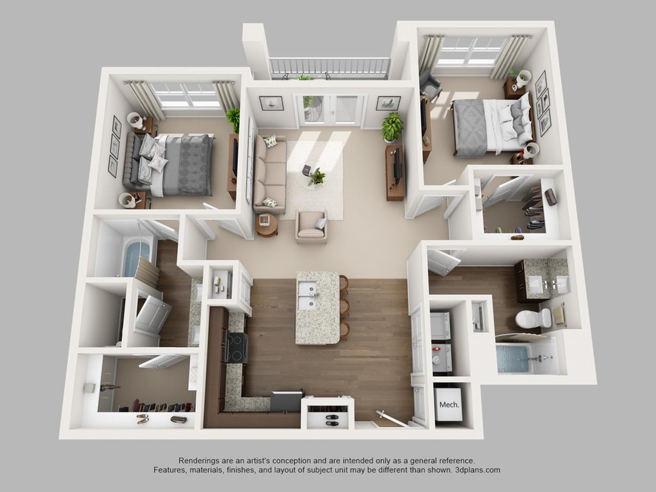 Floorplan 8 | The Haven at Atwater Village