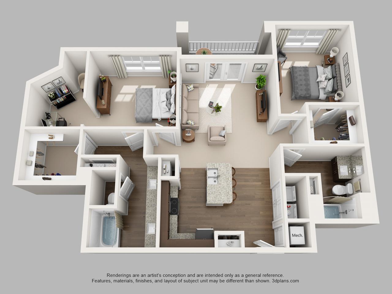 Floorplan 10 | The Haven at Atwater Village