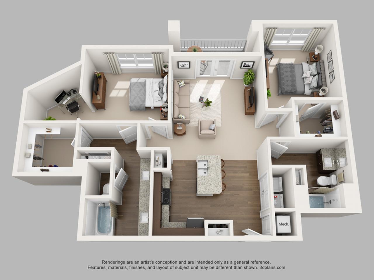 Floorplan 9 | The Haven at Atwater Village