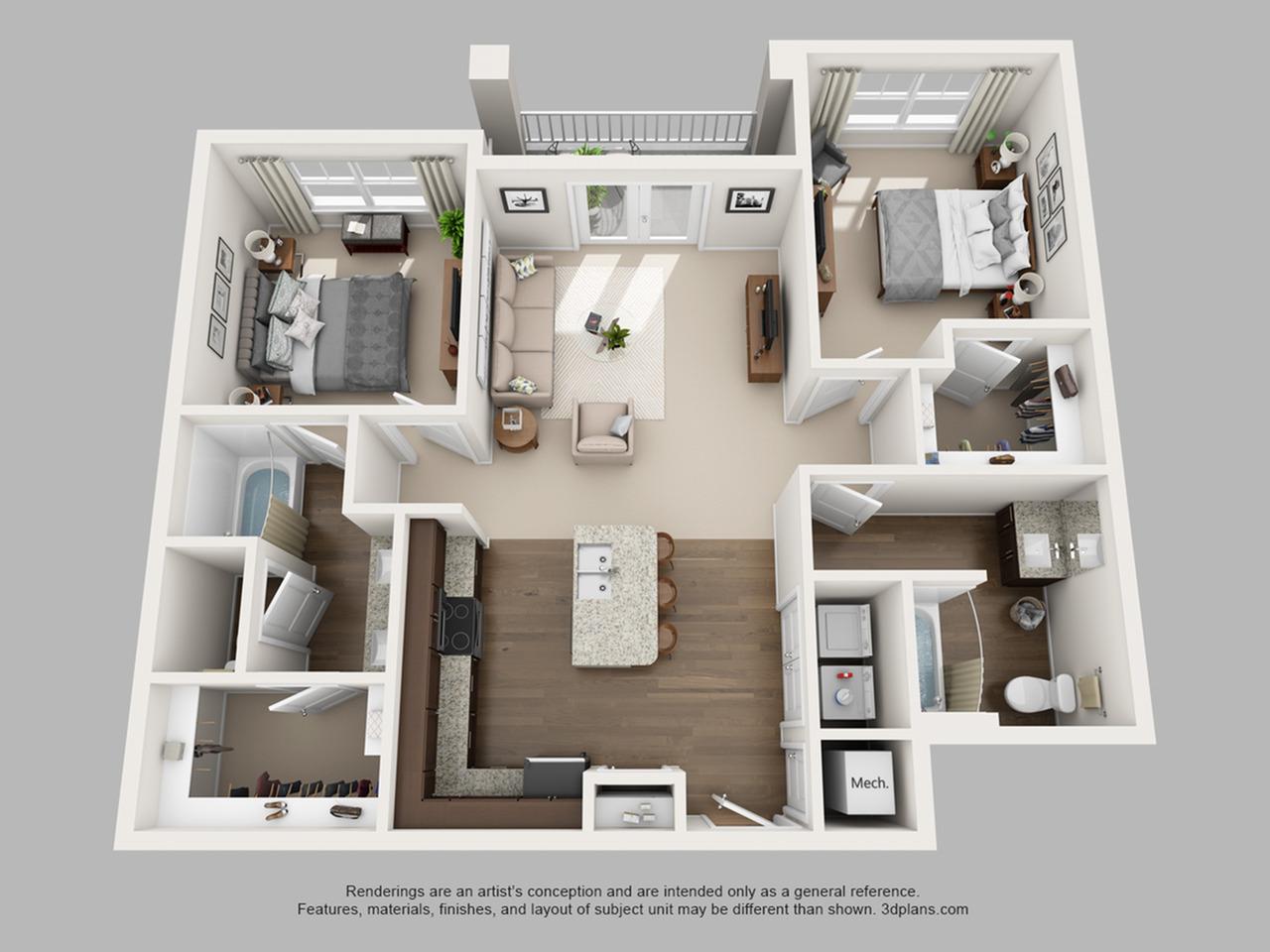 Floorplan 11 | The Haven at Atwater Village