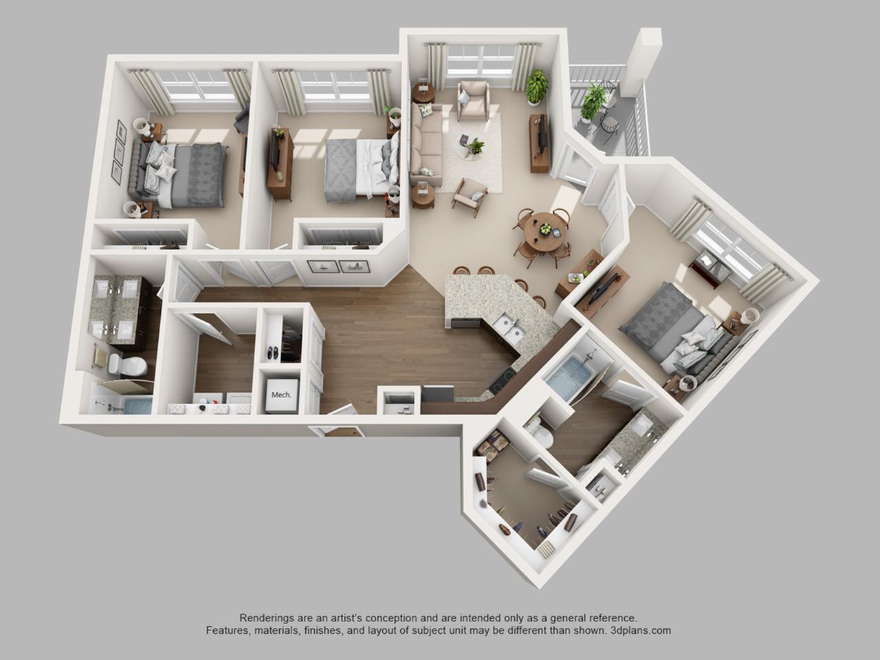 Floorplan 13 | The Haven at Atwater Village