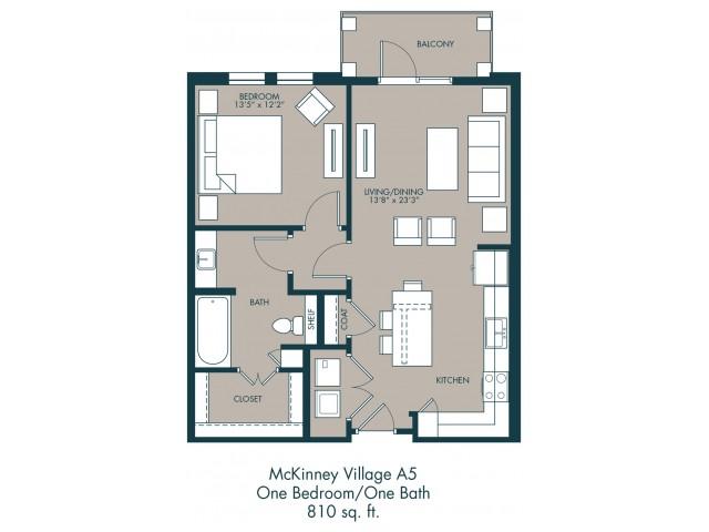 Apartments In McKinney TX | Floor Plan 2