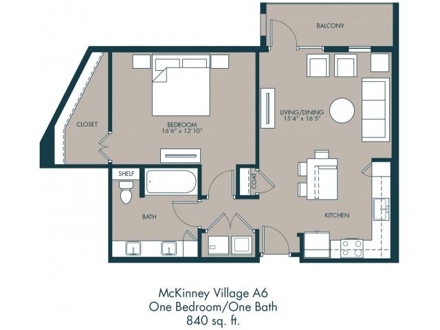 McKinney Apartments | Floor Plan 2