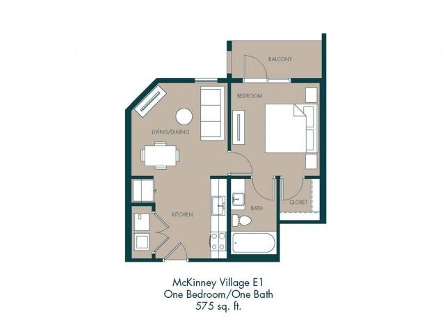 Apartments In McKinney TX | Floor Plan