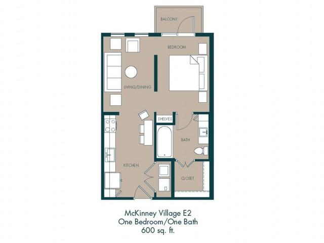 McKinney Apartments | Floor Plan