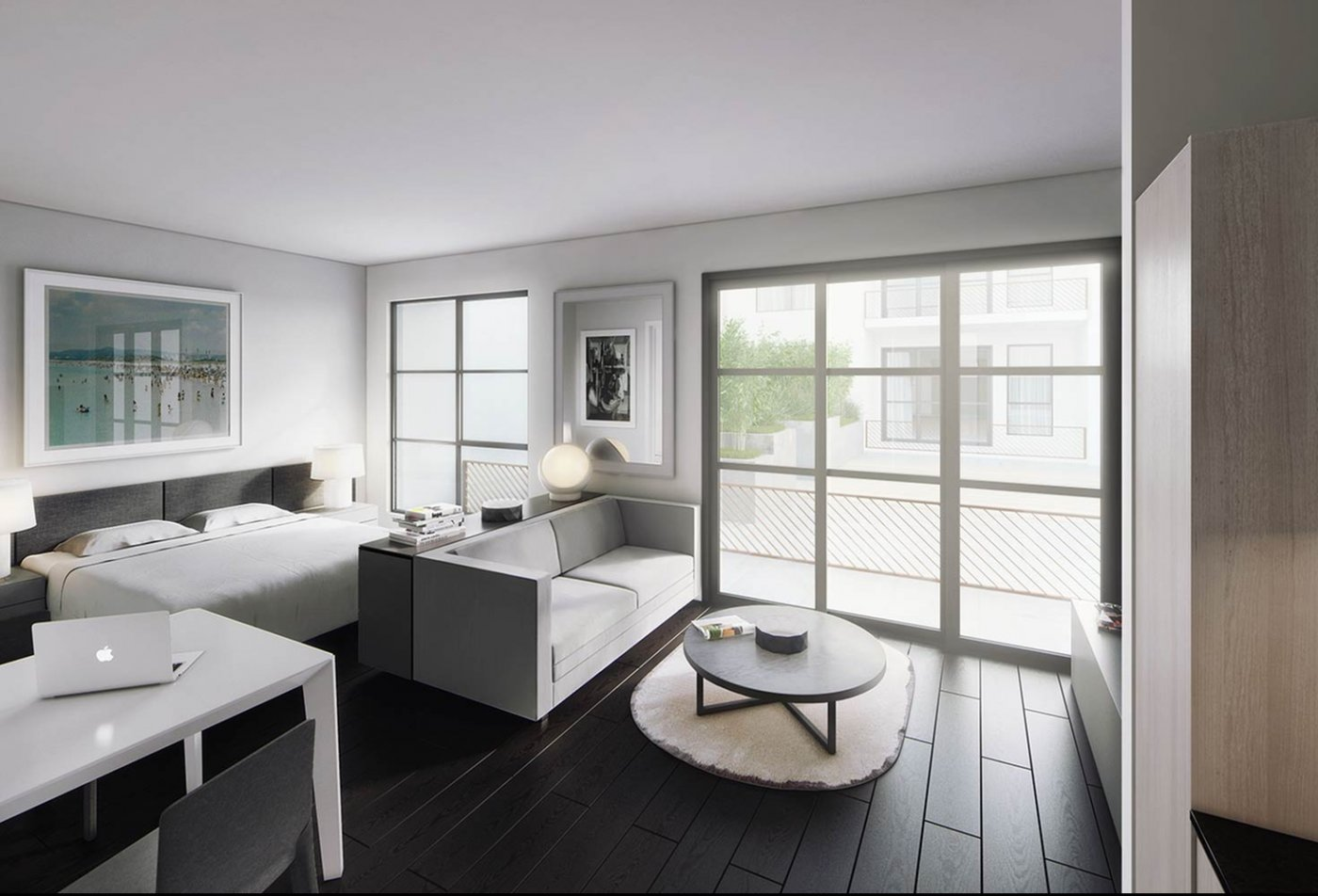 Spacious Master Bedroom   Apartments Homes for rent in Hollywood, CA   5800 Harold