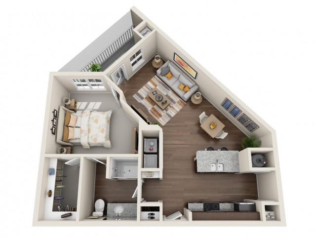 One Bedroom Apartment Kissimmee FL