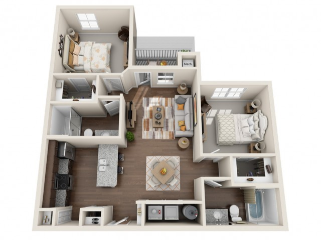Two Bedroom Apartment Kissimmee FL