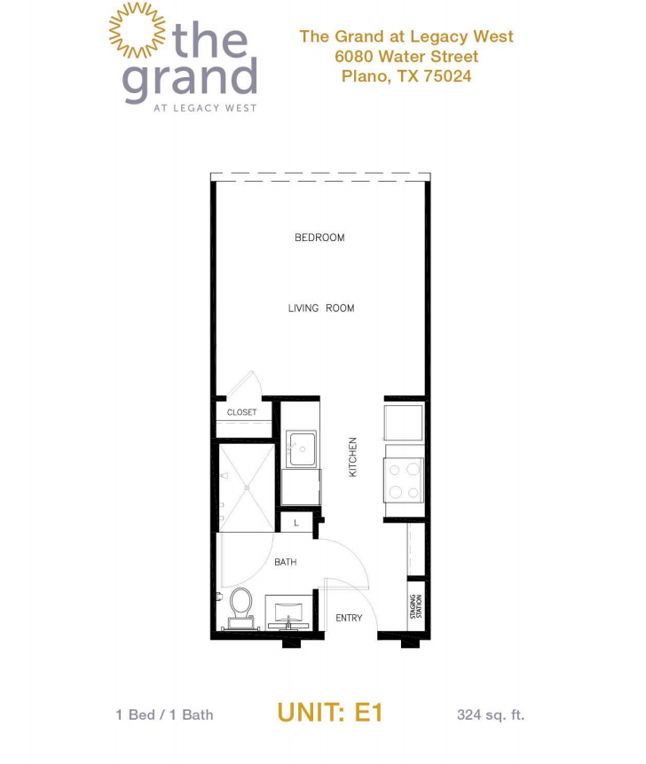 Lincoln property company properties the grand at legacy west plano tx for 2 bedroom apartments plano tx