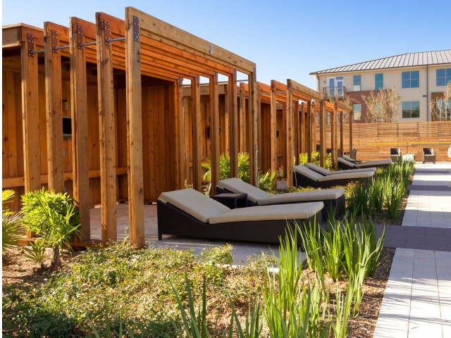 Image of Relaxing Pool-Side Cabana for Legacy North