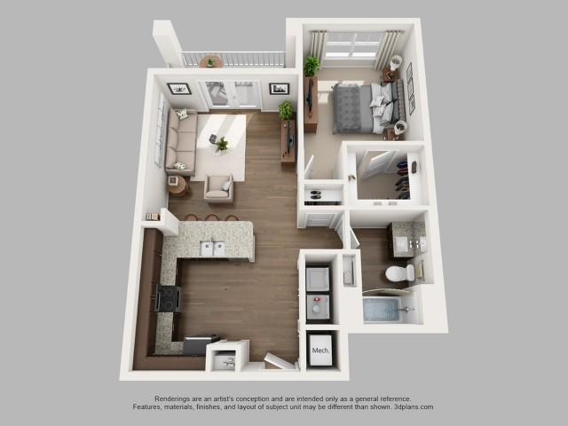 Floorplan 4 | The Haven at Atwater Village