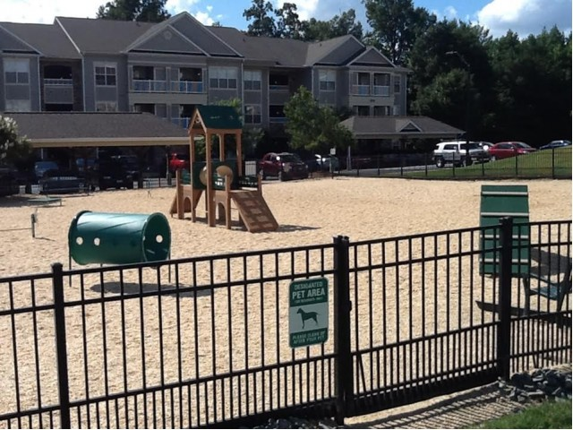Resident Bark Park | Knightdale NC Apartment Homes | Greystone at Widewaters