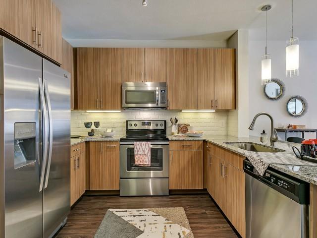 Luxurious Kitchen   Apartment Homes in Dallas, TX   Alexan West Dallas