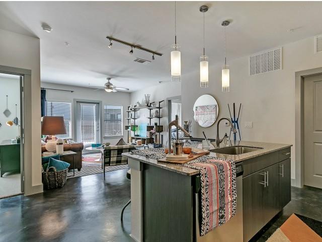 Modern Kitchen   Dallas TX Apartment For Rent   Alexan West Dallas